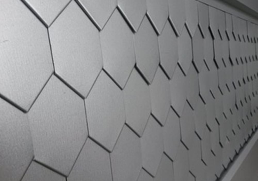Wall profile sheet Karu honeycomb